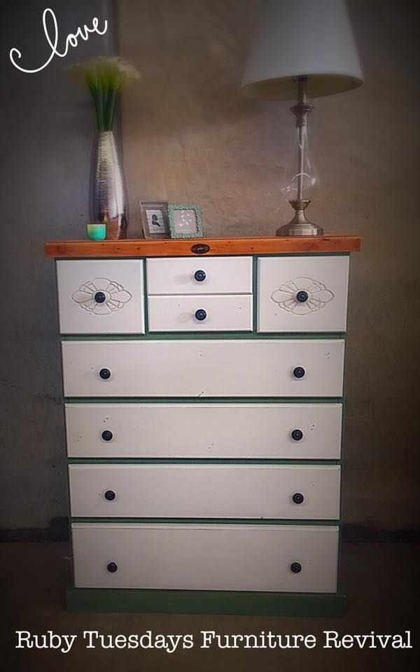 Stockmans Drawers in Ocean Calm and Worn White