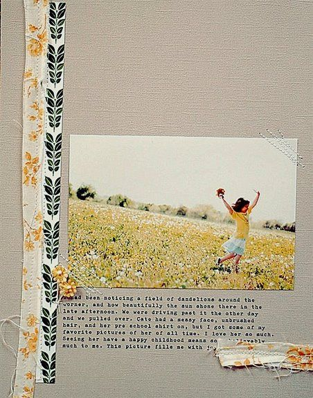 1 picture. Simple. Color scheme. Sew easy. Scraps. Single page.
