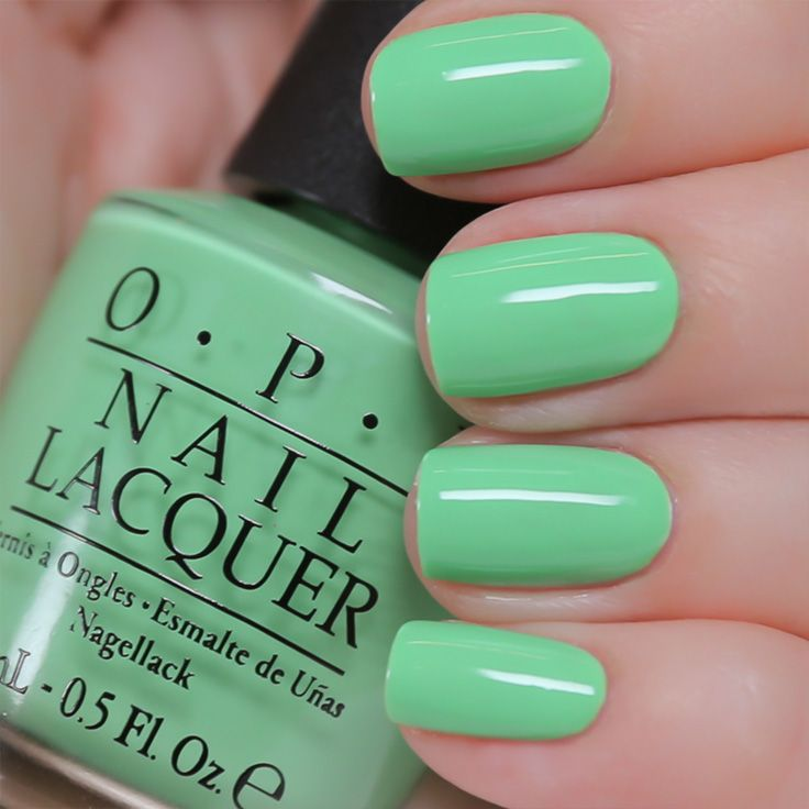 You Are So Outta Lime if you think you can go without #OPIneons by @OPI Products this summer...