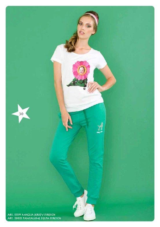 Maglia Jersey Stretch e #Pantaloni #Felpa Stretch #LollyStar - Scopri tutta la collezione qui--> http://www.lollystar.it/
