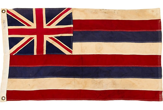 Hawaiian Flag Travis Rich One Kings Lane Hawaiian Flag Hawaiian History Hawaiian Art