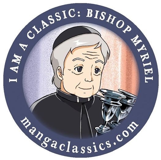 Share this Button Icon if you are a kind person like the Bishop in Les Miserables! #LesMiserable #LesMiz #LesMis #VictorHugo #BishopMyriel   #mangaclassics