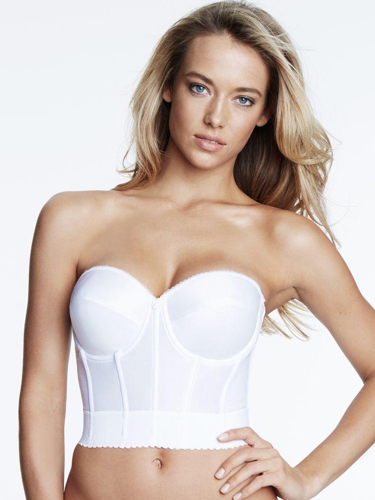 Noemi strapless balconet bridal bra 6377 products for Bra for strapless wedding dress