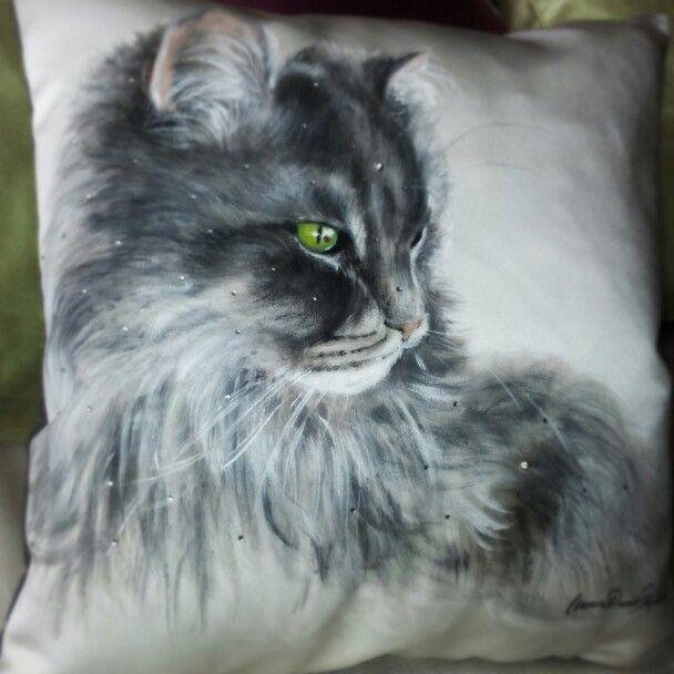 cuscino gatto milù