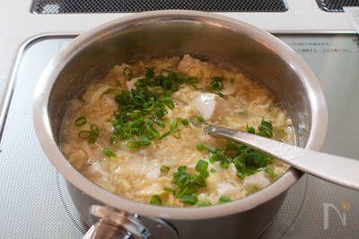 くずし豆腐と卵のとろとろ生姜スープ by tomoko | レシピサイト「Nadia | ナディア」プロの料理を無料で検索