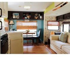 This Couple Turned A 5th Wheel Into A Gorgeous Tiny Home