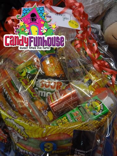 Mouth Puckering Sweetly Sour Gift Baskets