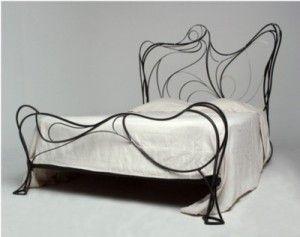 Кованая кровать №183