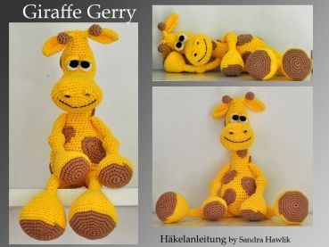 Häkelanleitung, DIY – Giraffe Gerry – Ebook, PDF, deutsch oder englisch