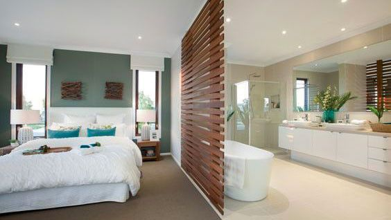 Je veux une salle de bains ouverte sur la chambre | Que la ...