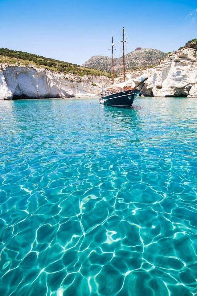 Unique #Milos island #YachtcharterGriechenland #YachtcharterKykladen