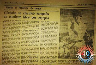 Federación Cordobesa de Karate: FCK - FAK, rivales por siempre
