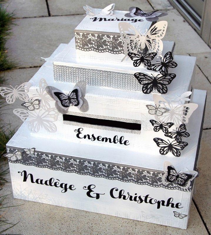 7 best urne mariage images on pinterest wedding card boxes wedding cards and wedding stuff. Black Bedroom Furniture Sets. Home Design Ideas
