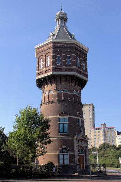 Watertoren Vlissingen (Badhuisstraat)