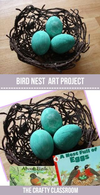 These little yarn nests make a great craft for Spring. Build your nest a day ahead of time for the glue to dry. And have scrambled eggs for breakfast so you don't waste the food! Inspiration for this craft came from No Time for Flashcards a wonderful resource for children's crafts and activities Materials: Yarn, Glue, Balloon, …