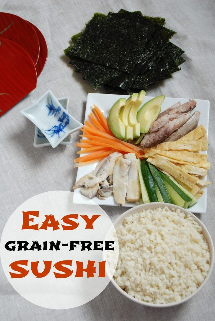 Easy starch free recipes
