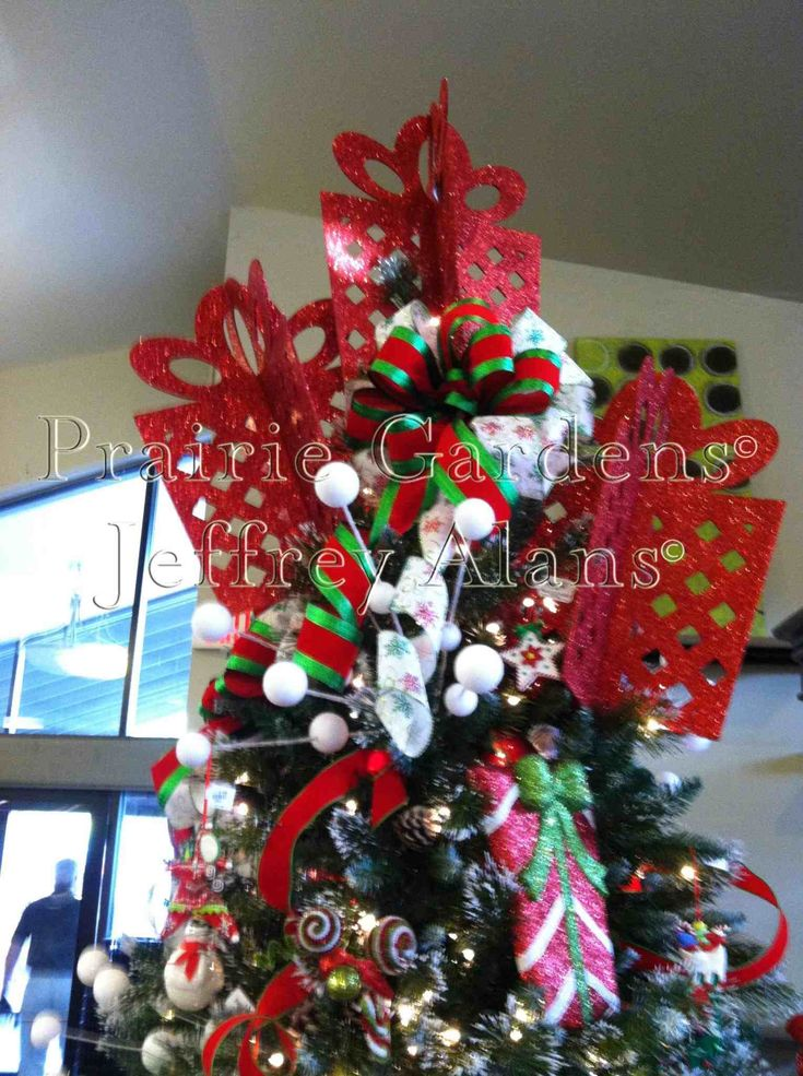 New Post tropical christmas tree topper