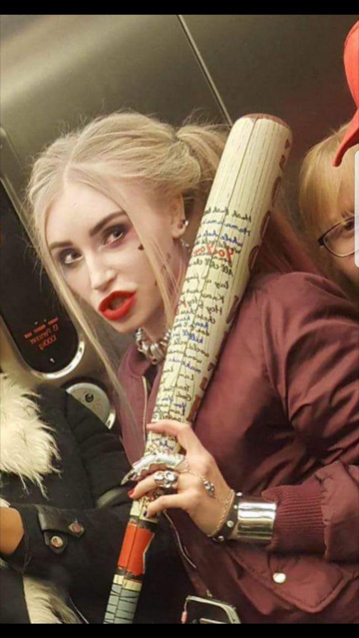 Harley Quinn halloween costume  - josieholmlund