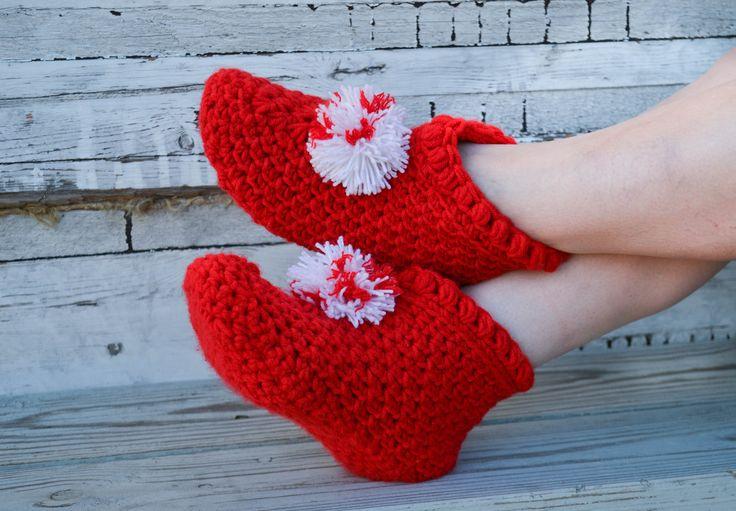 "Woolen socks hand knitted ""Warm Day"" by warmheels on Etsy"