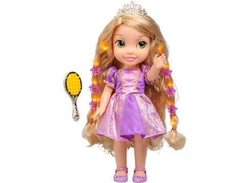 DISNEY PRINCESS Hair Glow Rapunsel