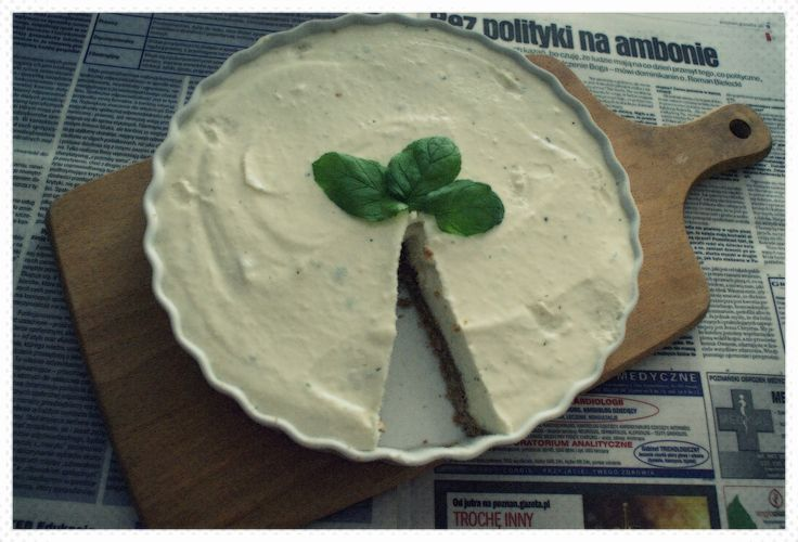 White chocolate, mascarpone, melon, mint!