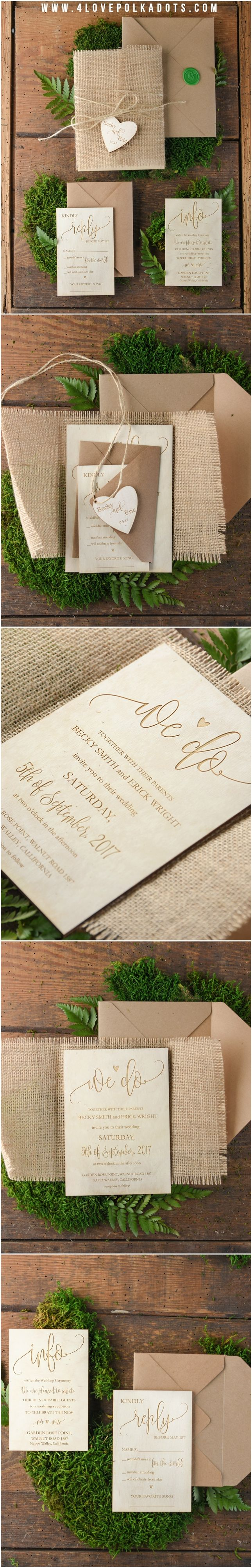 80 Best Wedding Invitations Images On Pinterest Bridal Invitations