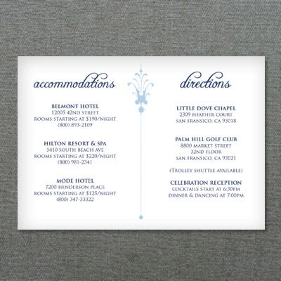 17 images about DIY Wedding RSVP and Enclosure Card Templates on – Wedding Information Card Template