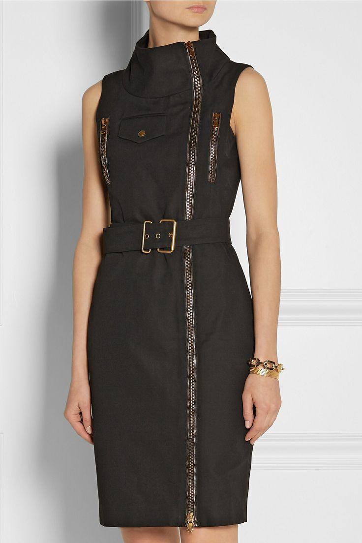 Alexander McQueen Zip Detail Dress