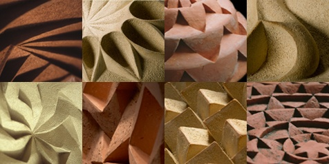 Halima Cassell Montage edges 3D Art Texture Project Suitable for GCSE Question on Textures or Edges