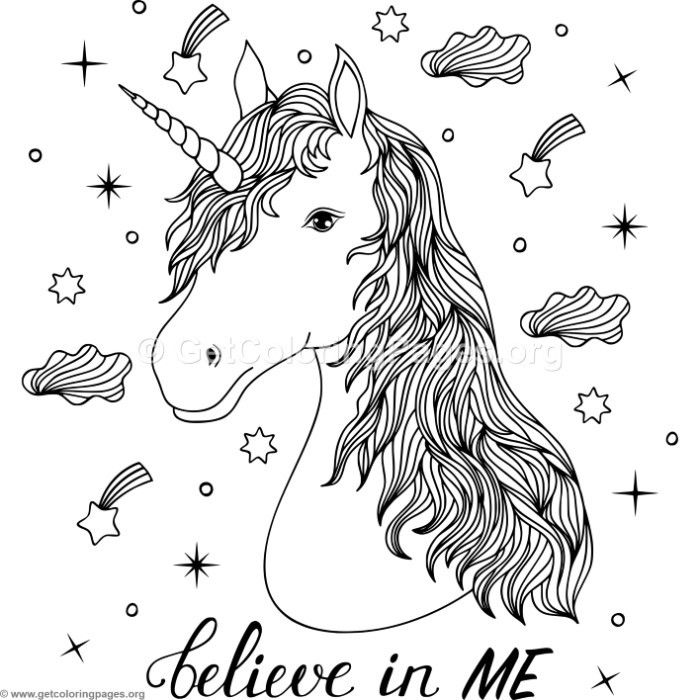 Free Instant Download Believe In Me Unicorn Coloring Pages Coloring Coloringbook Coloringp Unicorn Coloring Pages Horse Coloring Pages Animal Coloring Pages