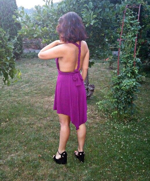 #purpledress