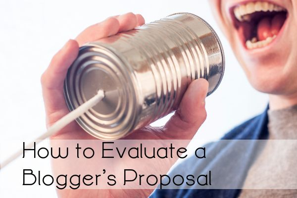 How to Evaluate a Blogger's Proposal   LinkedIn