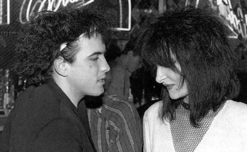 Robert Smith & Siouxsie Sioux