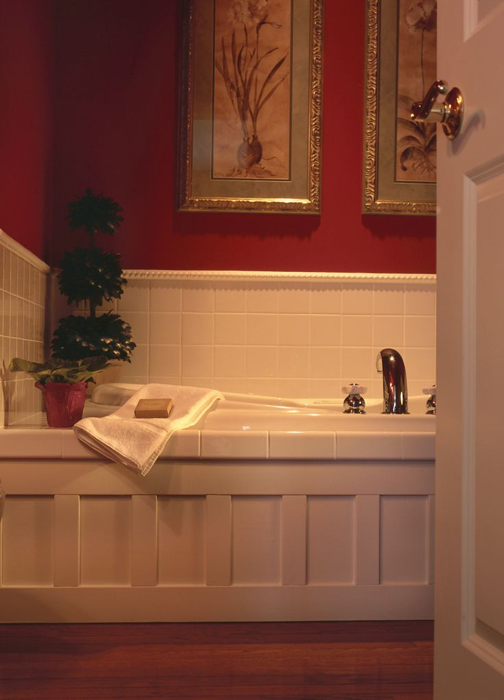 Spa-inspired bathroom