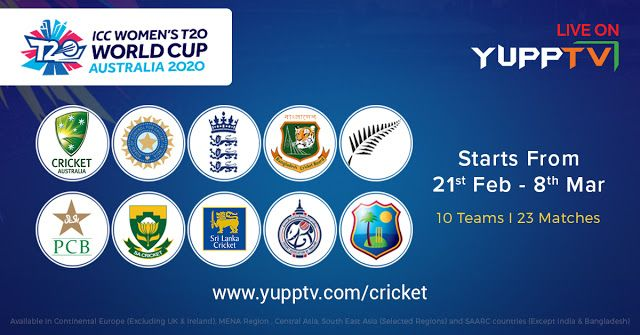 Pin On Icc Womens T20 World Cup 2020
