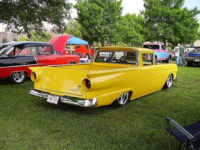 1957 ford ranchero 1957 ford ranchero custom first year of the rancheros customized