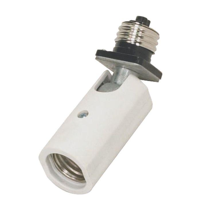 Recessed Lighting Bulb Extension : Swivel socket extender
