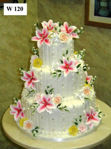 Carlo's Bakery - Floral Wedding Cake Designs