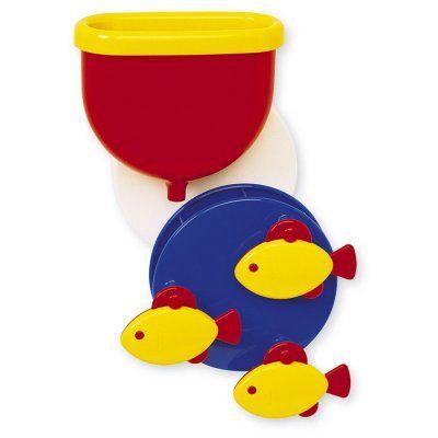 Lekker kliederen met water. Deze leuke fishwheel van Ambi Toys is leuk voor in bad en onder de douche. #speelgoed #sinterklaas #kerst #cadeau