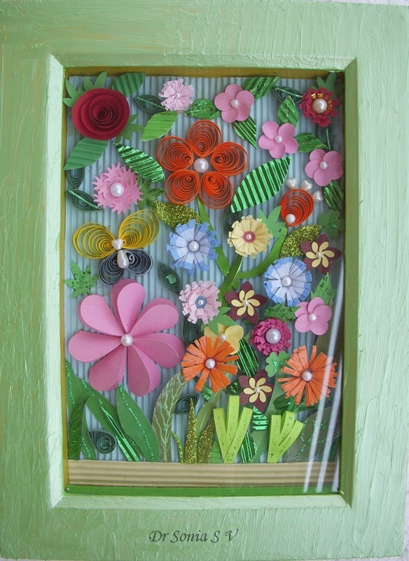 newspaper flowers recycled craft for kids 17 images about recycled paper strips quilling on 7847