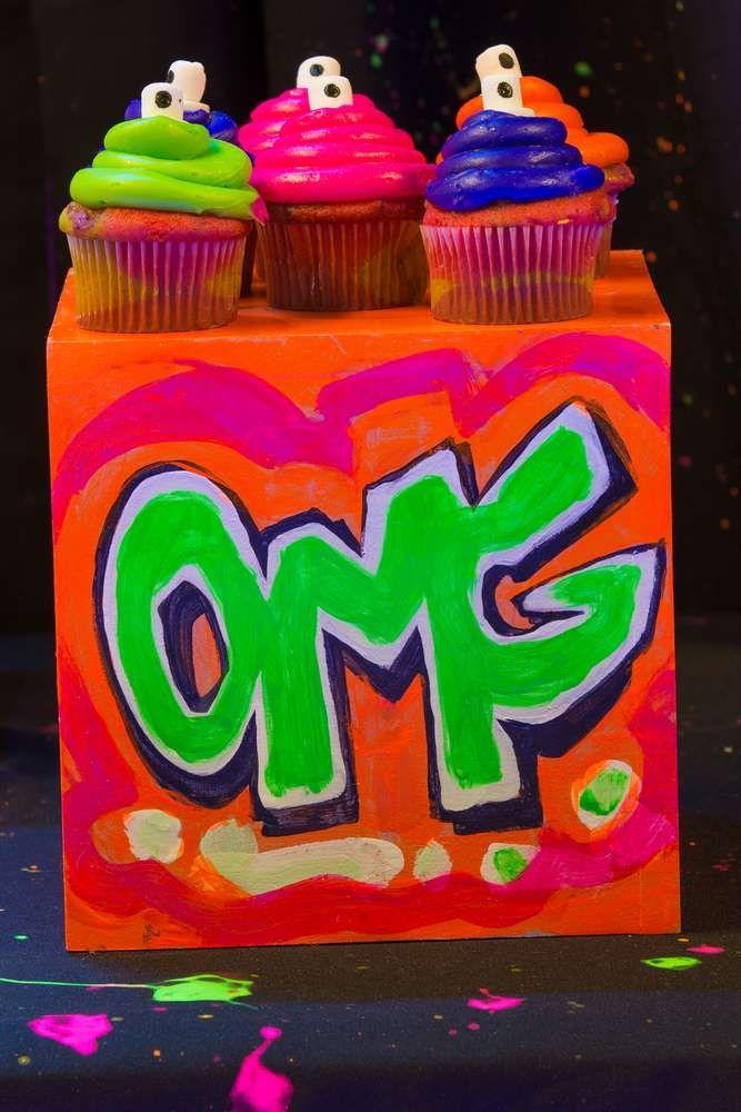 День рождения граффити вечеринка для детей