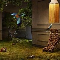 Christian Louboutin's Mad Hatter 2010 Ad Campaign : Sassi Sam Girlie Gossip Files