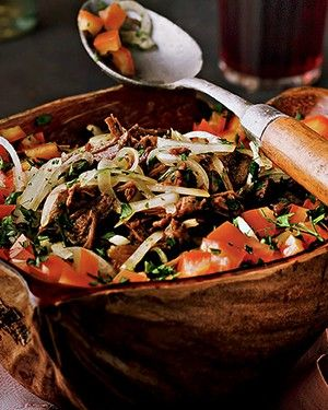 Salada espanhola (Foto: Rogério Voltan/Editora Globo)