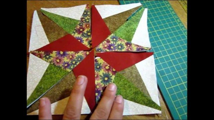 Tutorial Blazing Star by Roseli Barbosa (Lolla Crafts)