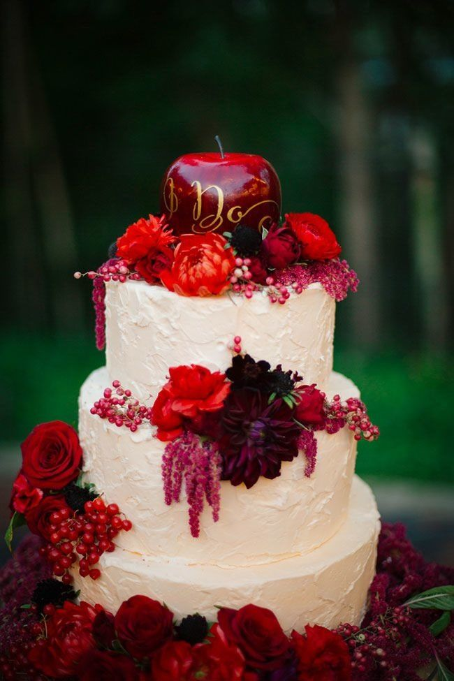 Switch Out A Traditional Cake Topper For This Elegant