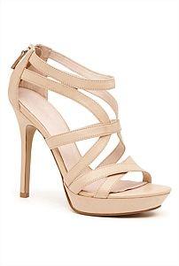 Daphne Strappy Heel