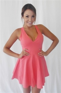 Smooth Operator Dress in Coral - Shugah Boutique