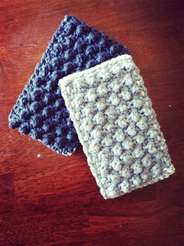 Bobble Kitchen Sponge By Book People Studio - Free Crochet Pattern - (bookpeoplestudio.wordpress)