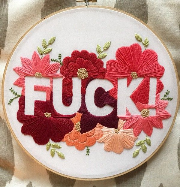 75 Modern Embroidery Kits for Beginners