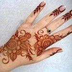 Latest Bridal Henna Designs 2013 11 150x150 Latest Bridal Hand Henna Designs 2013